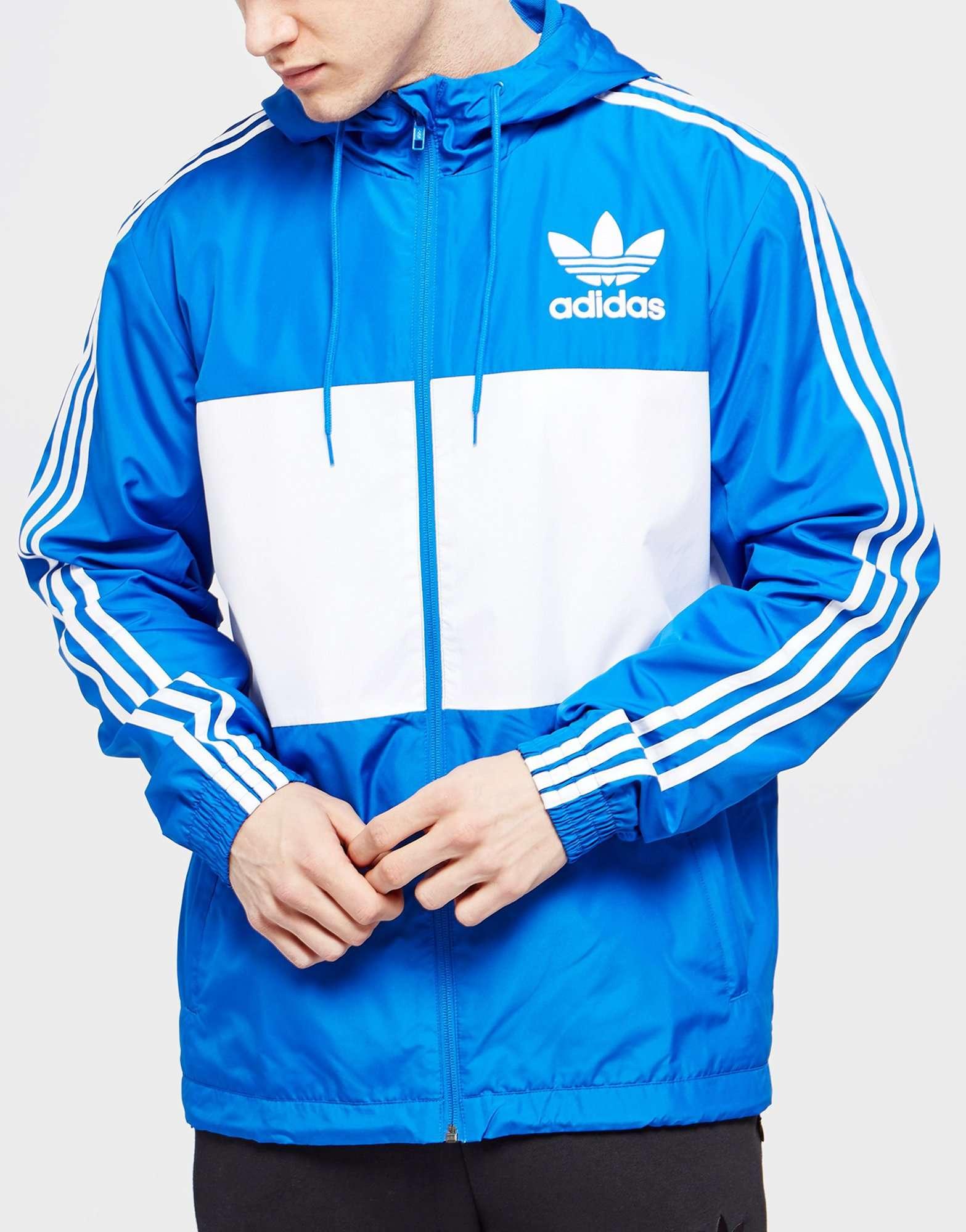 Adidas Originals California Windbreaker Jacket Scotts