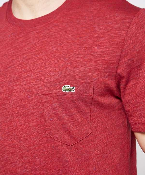 lacoste live pocket short sleeve t shirt scotts menswear. Black Bedroom Furniture Sets. Home Design Ideas