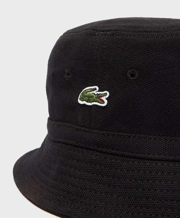 Lacoste Pique Bucket Hat  1a1a9bbcf97
