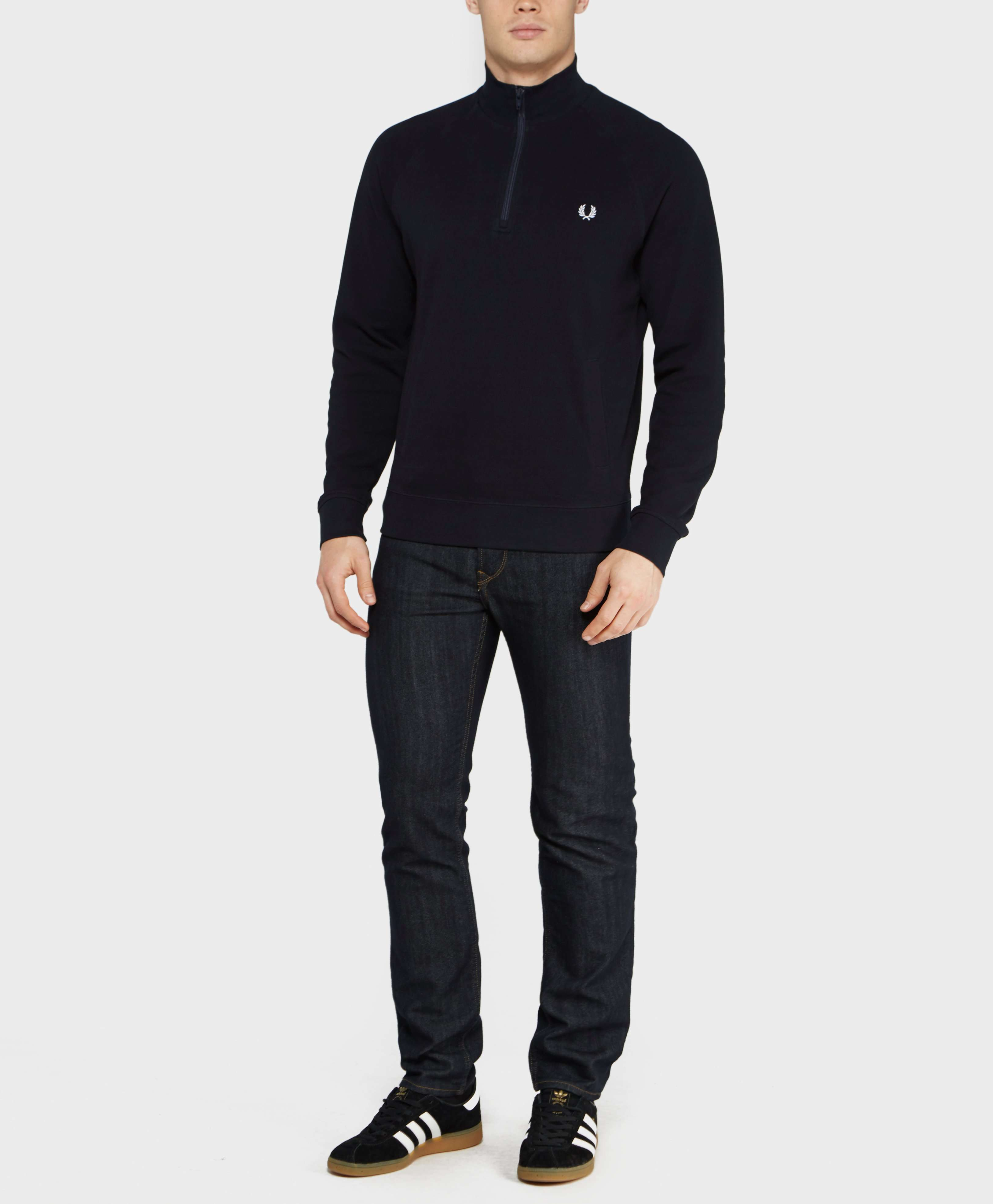 Fred Perry 1/2 Zip Pique Knit - Exclusive
