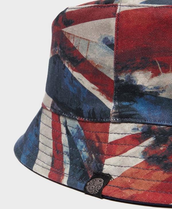 0b51902d653 Pretty Green Union Jack Bucket Hat