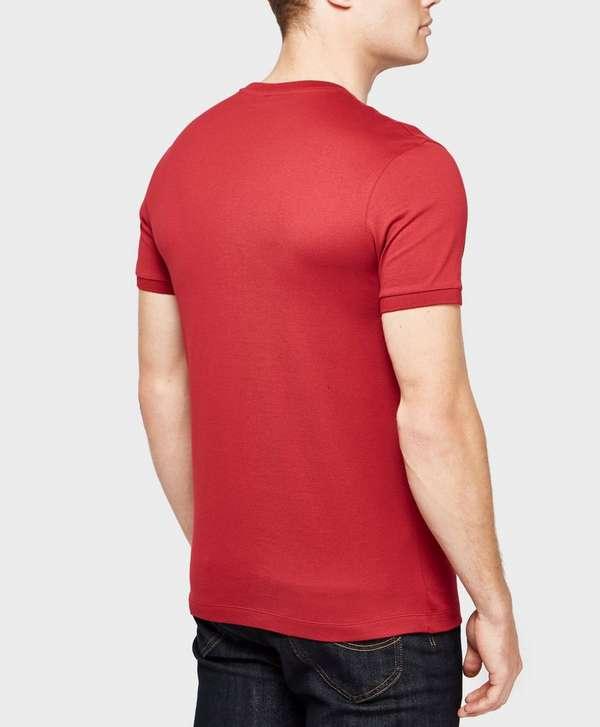 paul and shark logo short sleeve t shirt exclusive. Black Bedroom Furniture Sets. Home Design Ideas