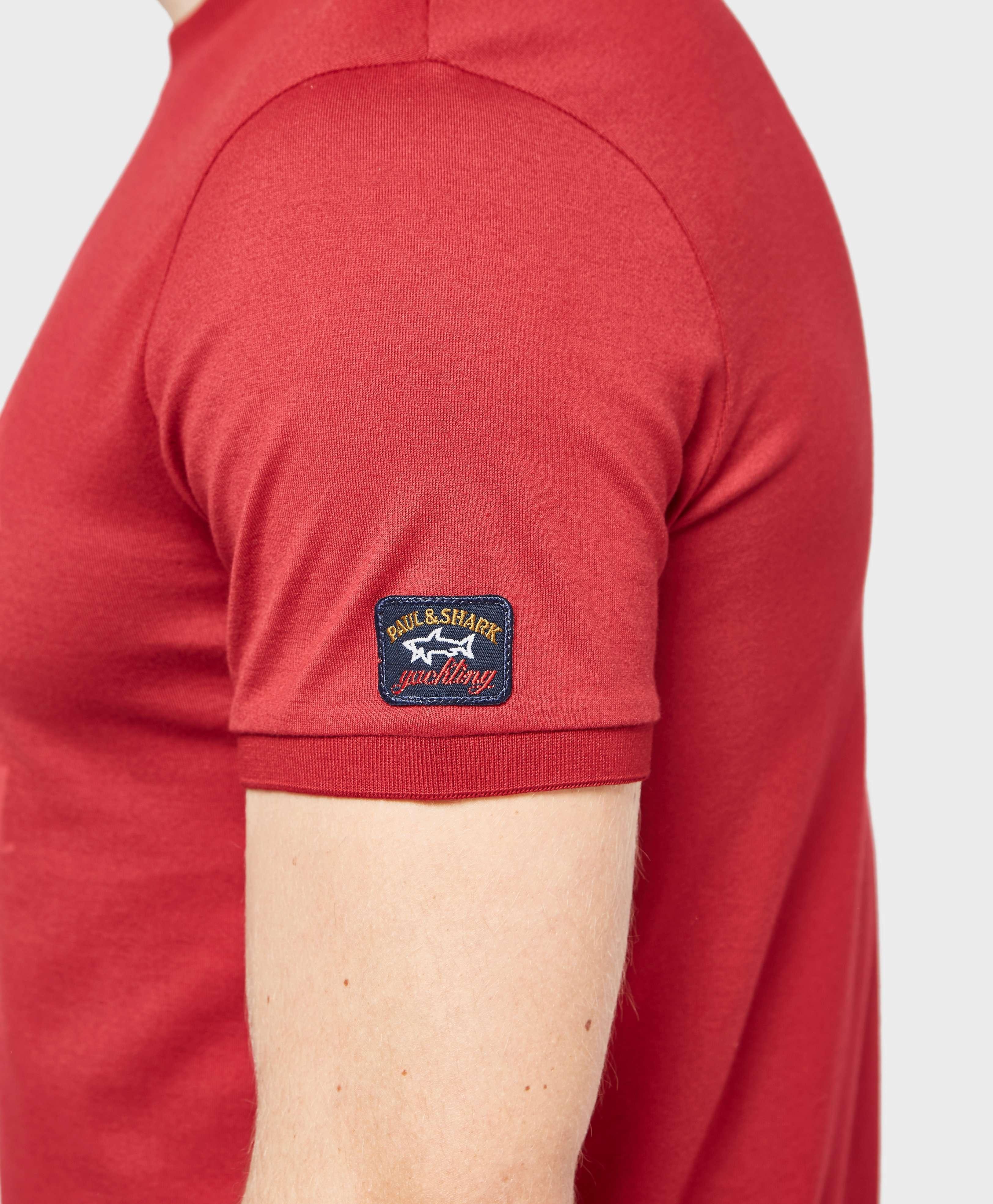 Paul and Shark Tonal Logo Short Sleeve T-Shirt - Exclusive