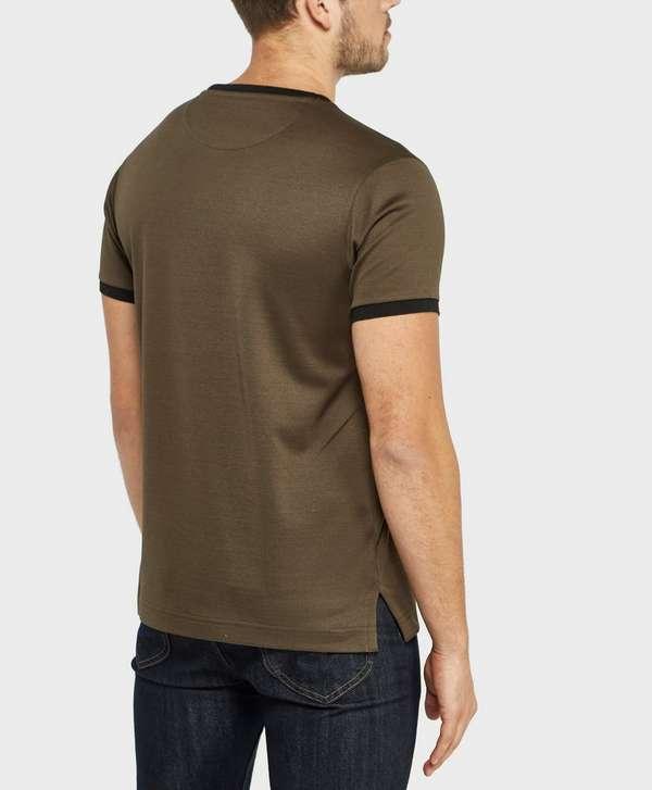paul and shark ringer short sleeve t shirt exclusive. Black Bedroom Furniture Sets. Home Design Ideas