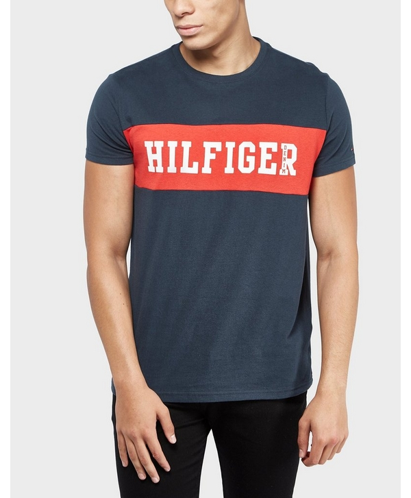 f4fb65c581f74 Tommy Hilfiger Panel Logo Short Sleeve T-Shirt - Online Exclusive ...