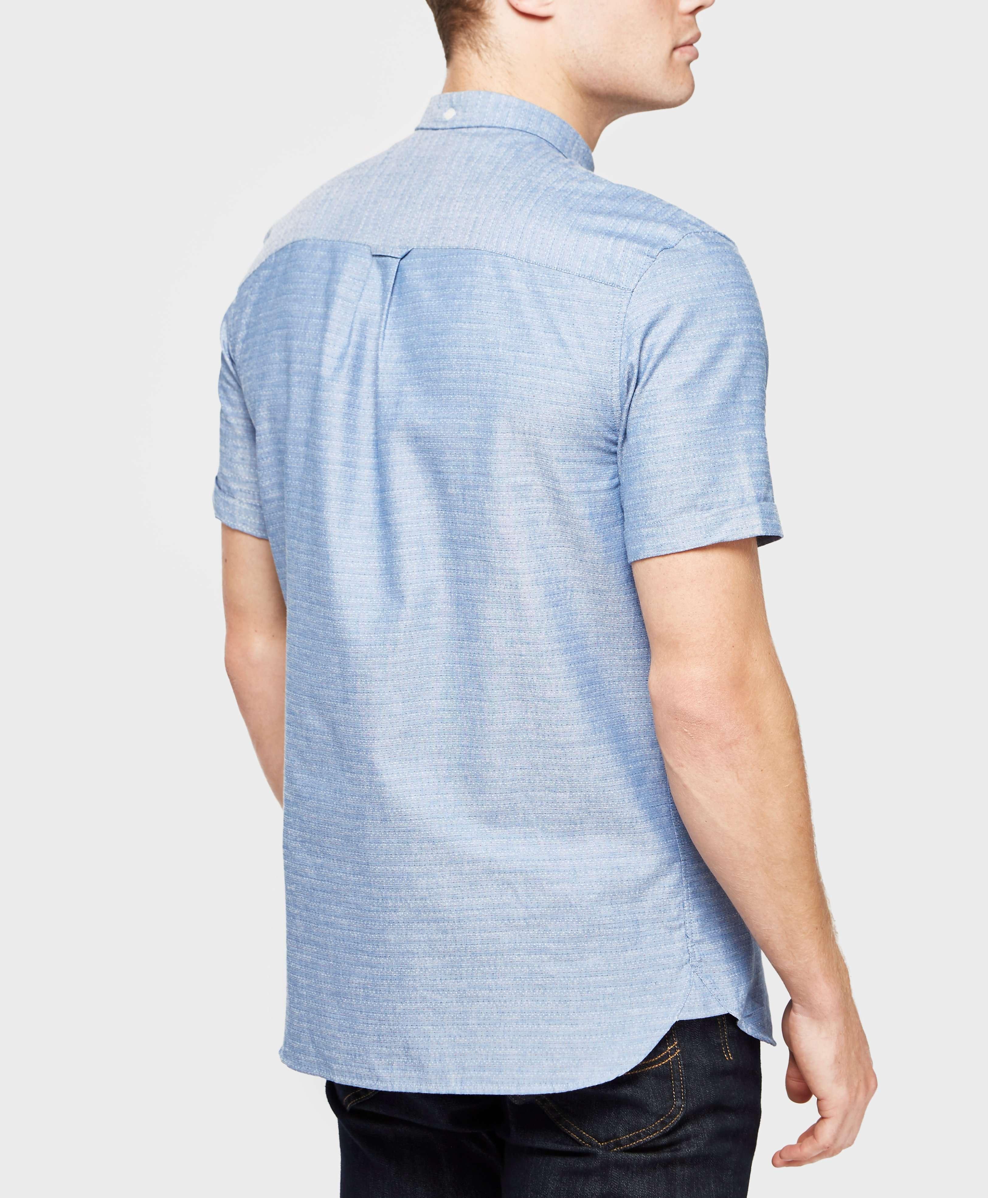 Lyle & Scott Running Stitch Short Sleeve Shirt