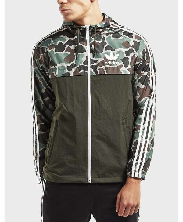 adidas originals windbreaker lightweight jacket scotts. Black Bedroom Furniture Sets. Home Design Ideas