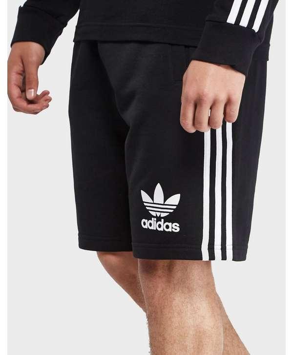 Adidas Menswear - Adidas Originals Ob Print Shorts Black