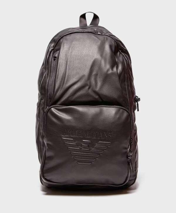 Armani Jeans Eagle Backpack   scotts Menswear 0e9d932caa
