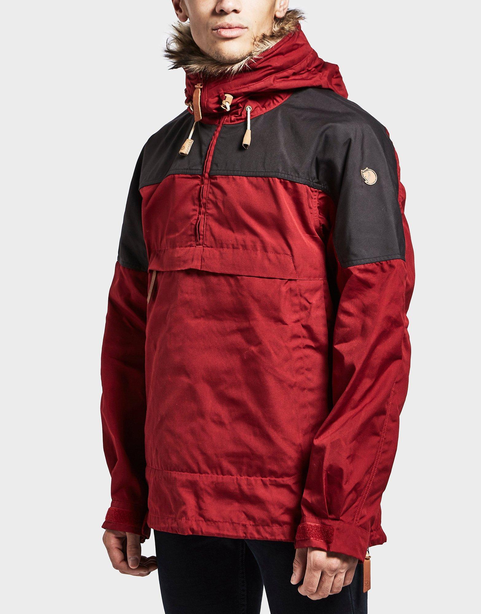 Fjallraven hooded parka coat with borg lining