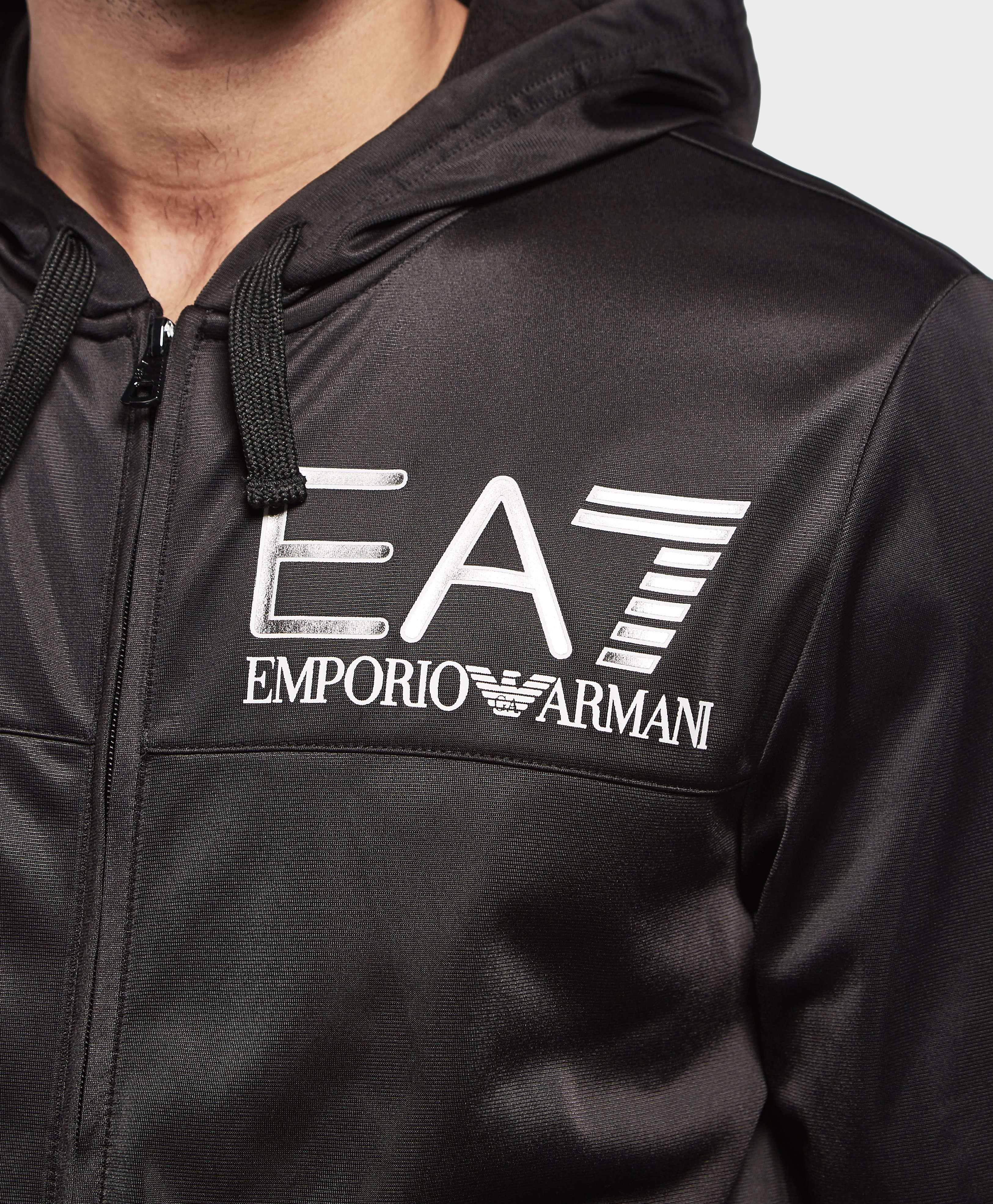 Emporio Armani EA7 Poly Full Zip Hoodie