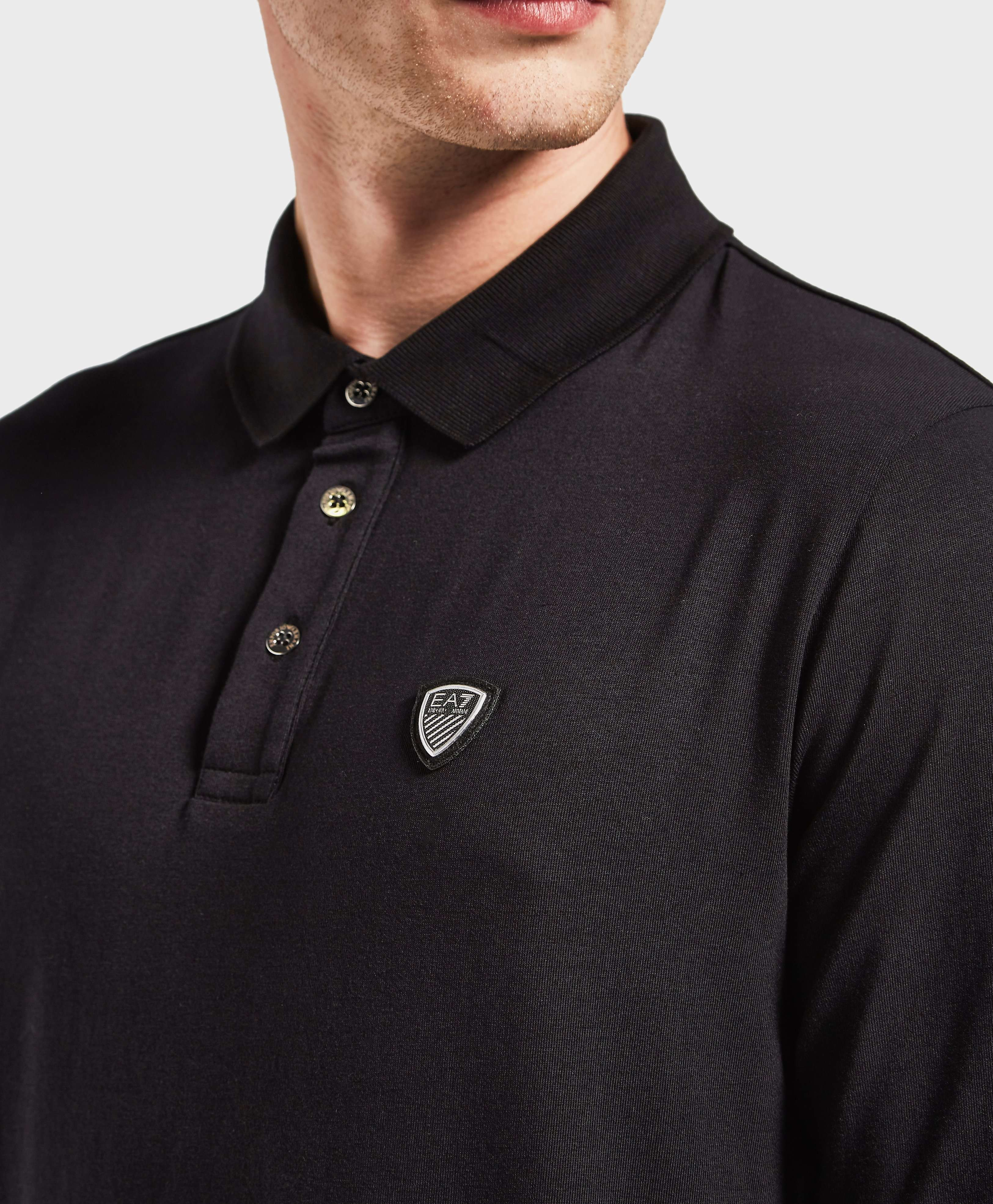 Emporio Armani EA7 Soccer Long Sleeve Polo Shirt