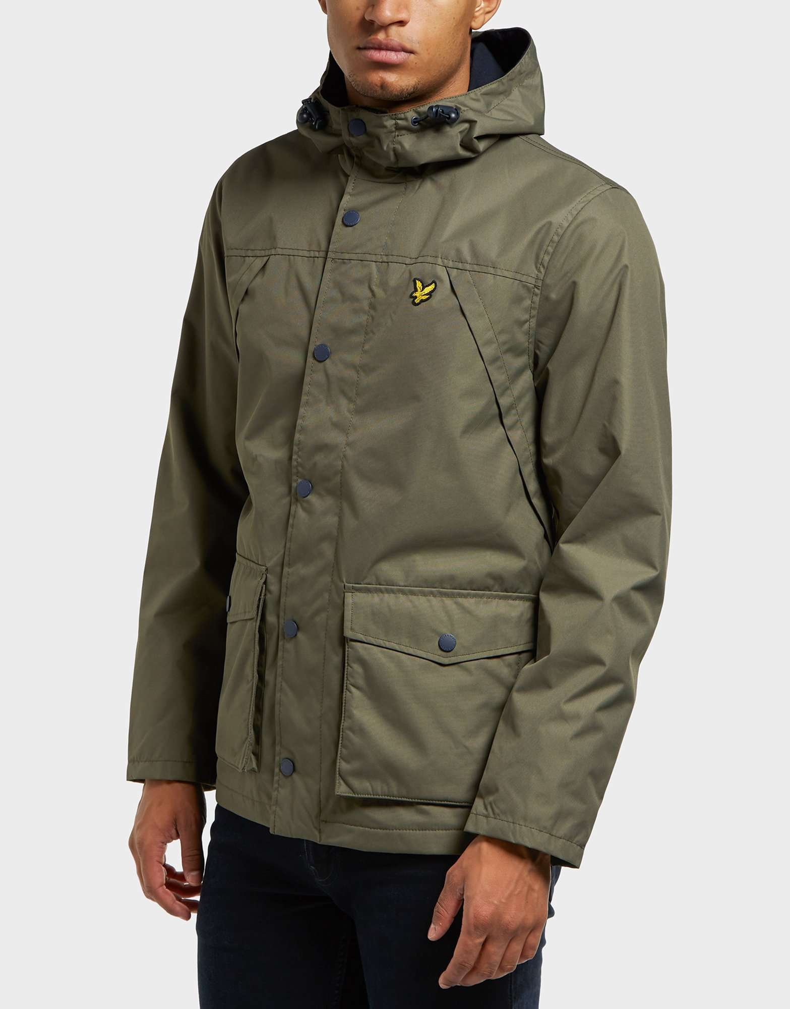 lyle scott fleece lined lightweight jacket scotts menswear. Black Bedroom Furniture Sets. Home Design Ideas