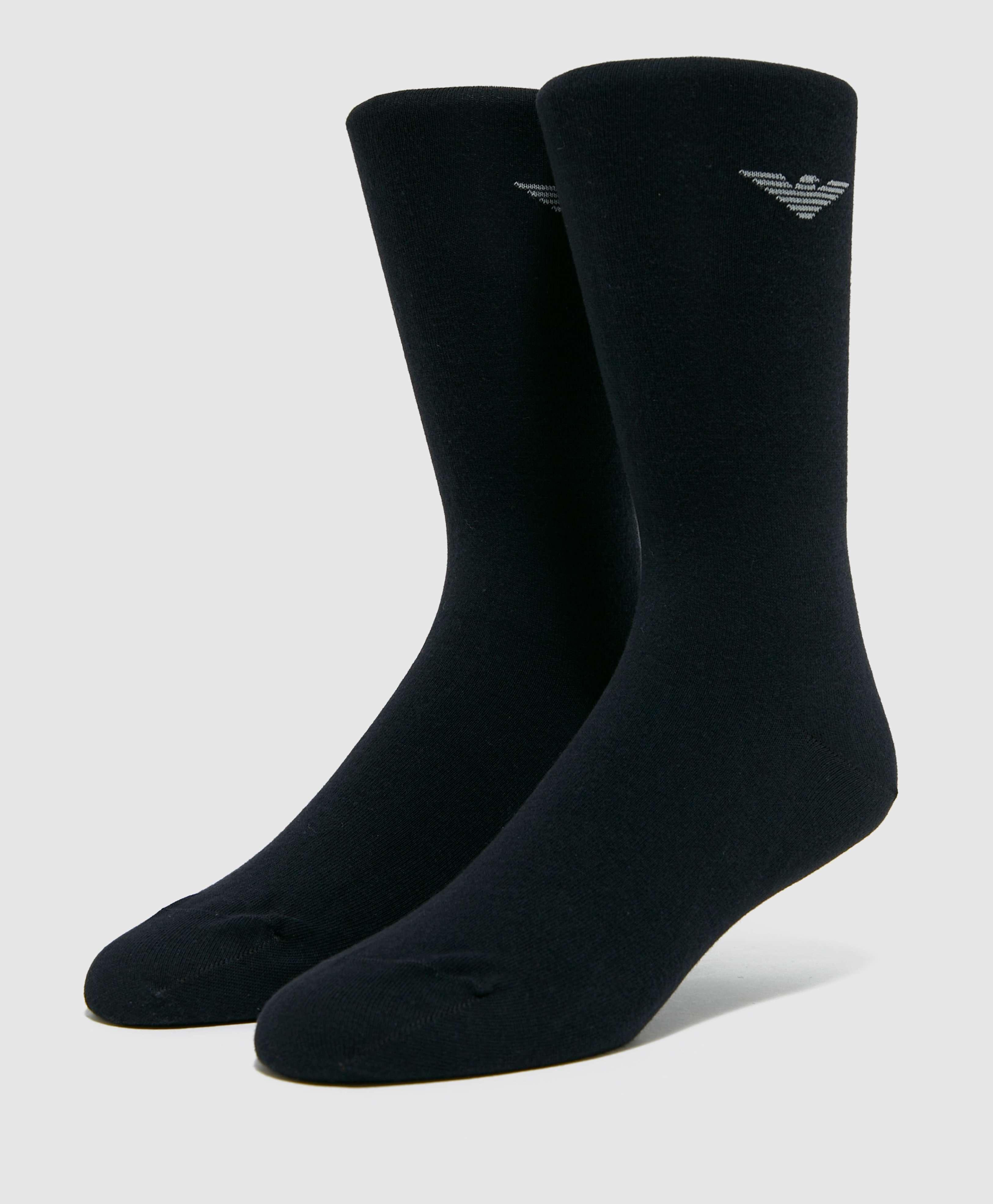 Emporio Armani 2-Pack Eagle Socks
