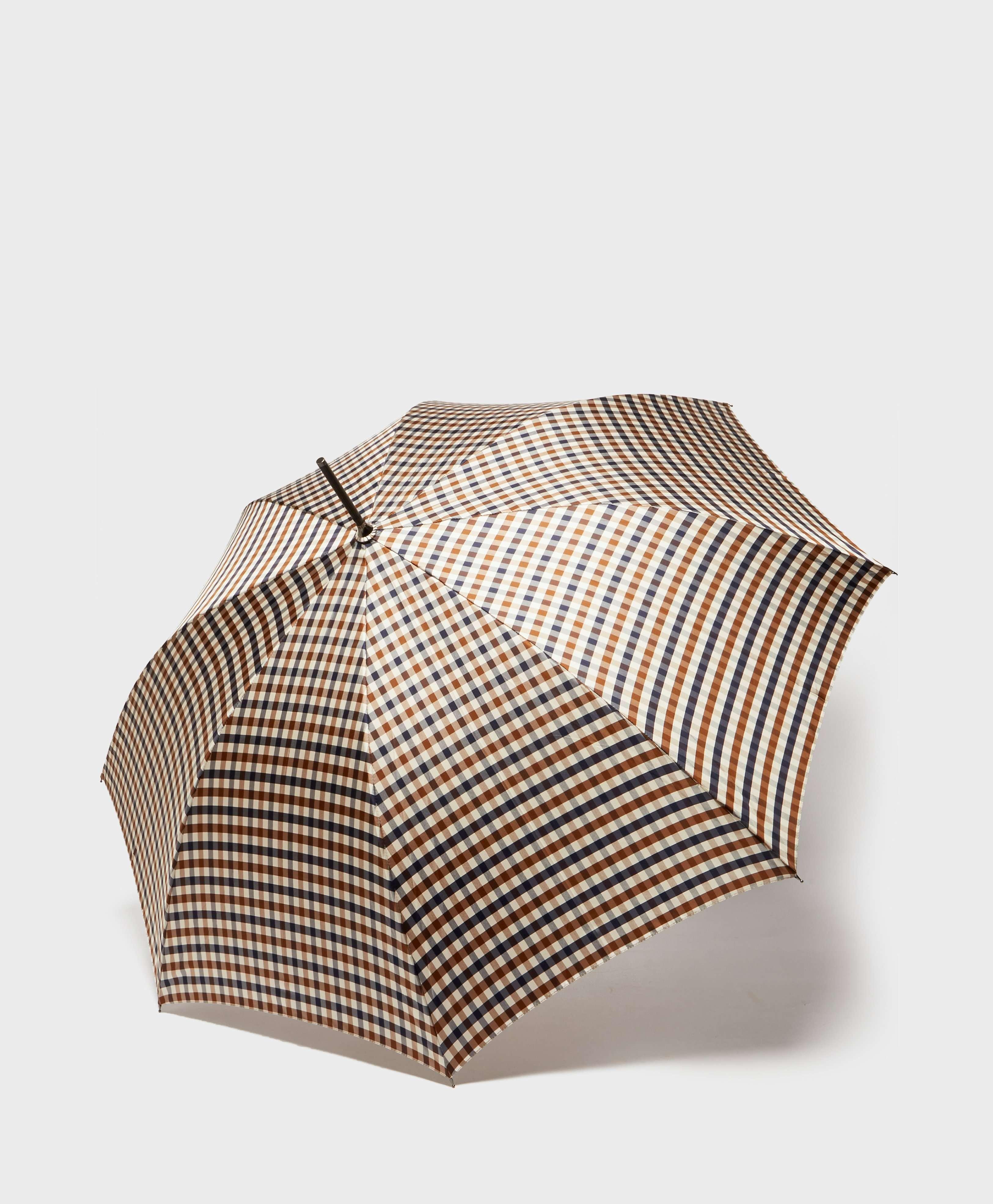 Aquascutum Club Check Walker Umbrella