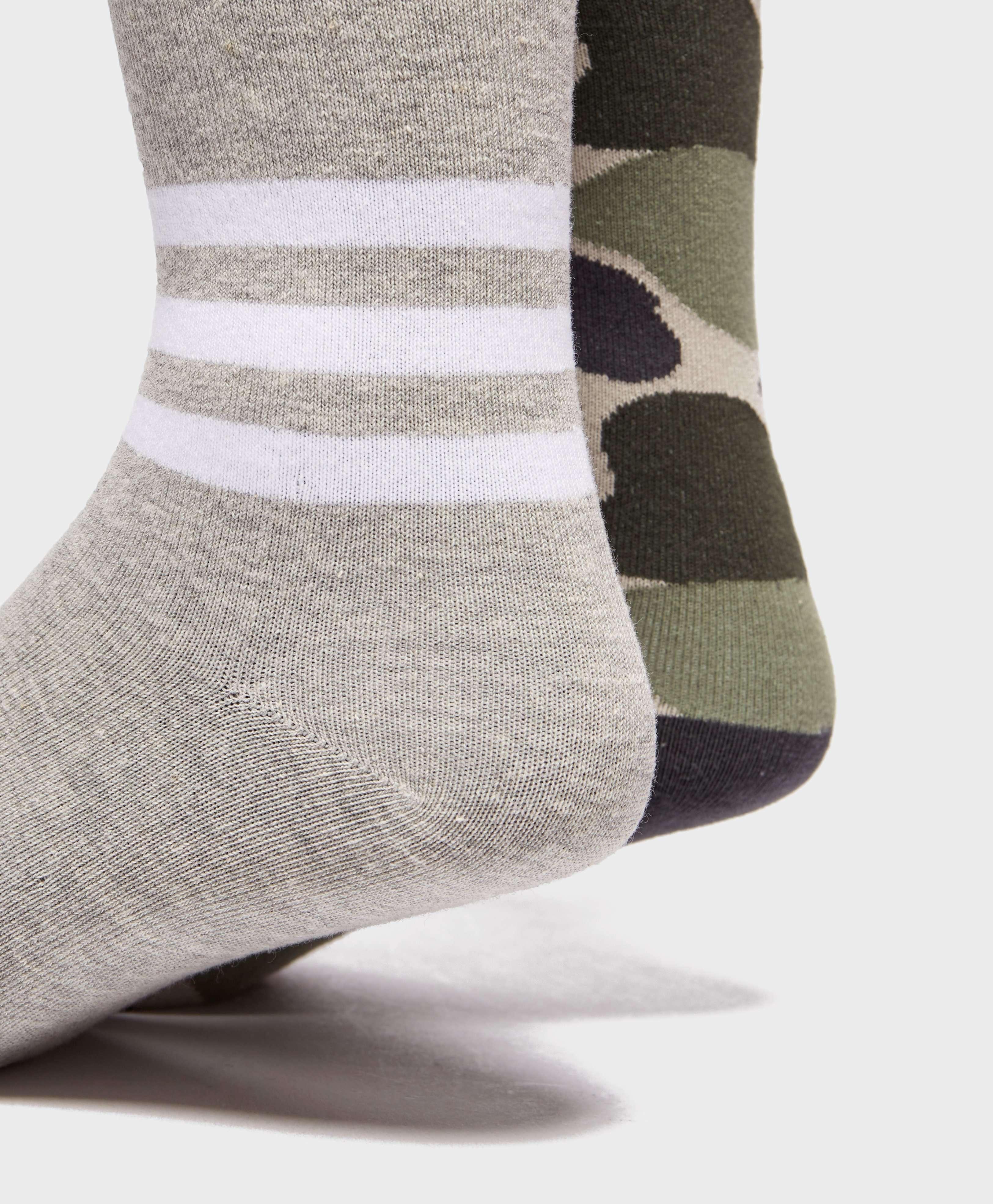 adidas Originals 2-Pack Camouflage Socks