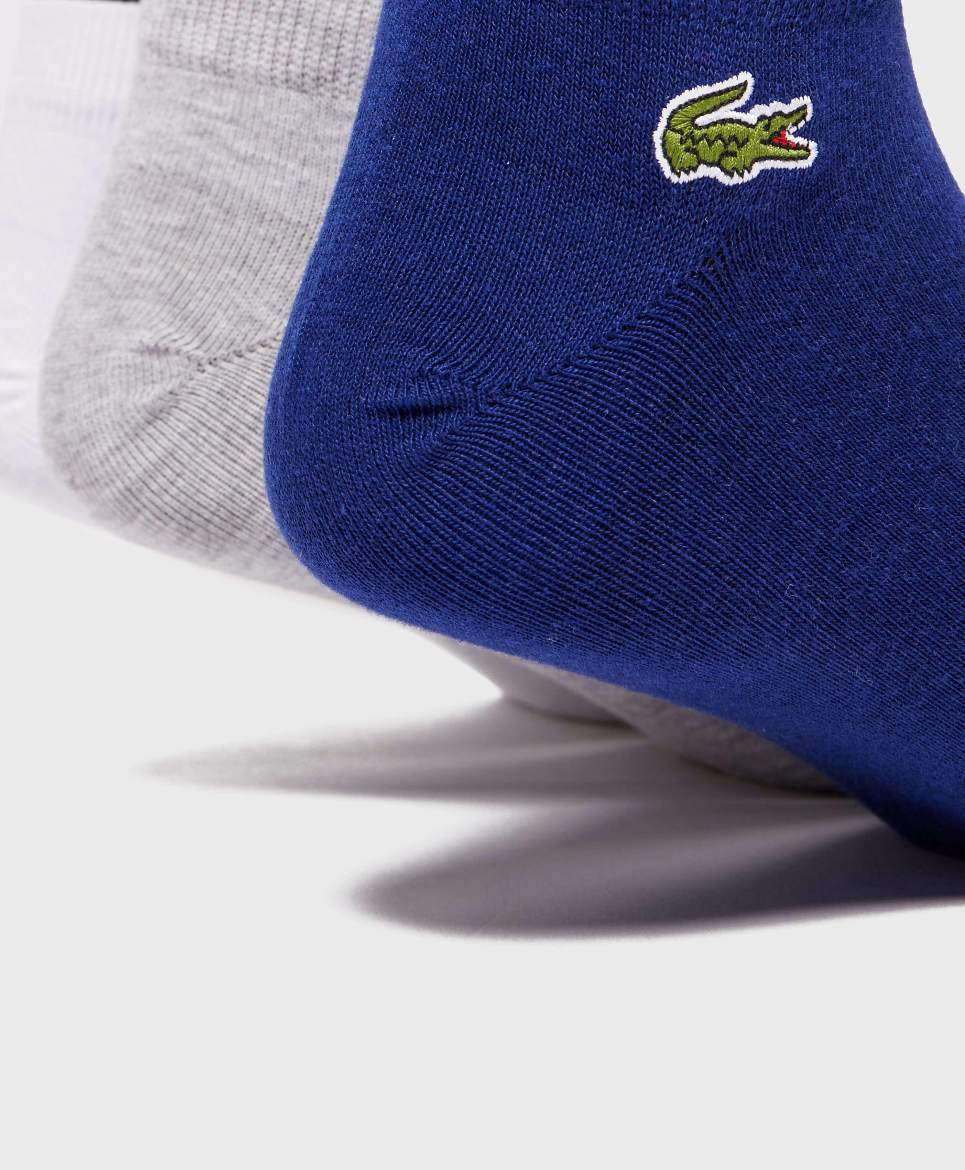 Lacoste 3-Pack Trainer Socks