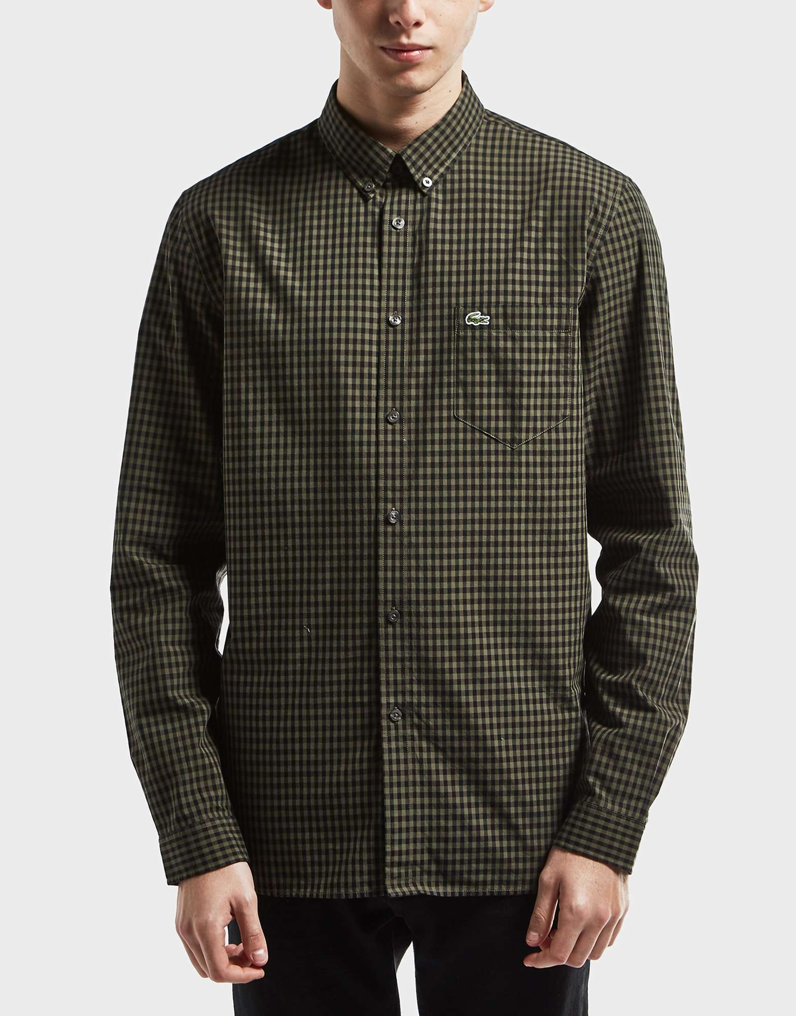Lacoste Gingham Long Sleeve Shirt