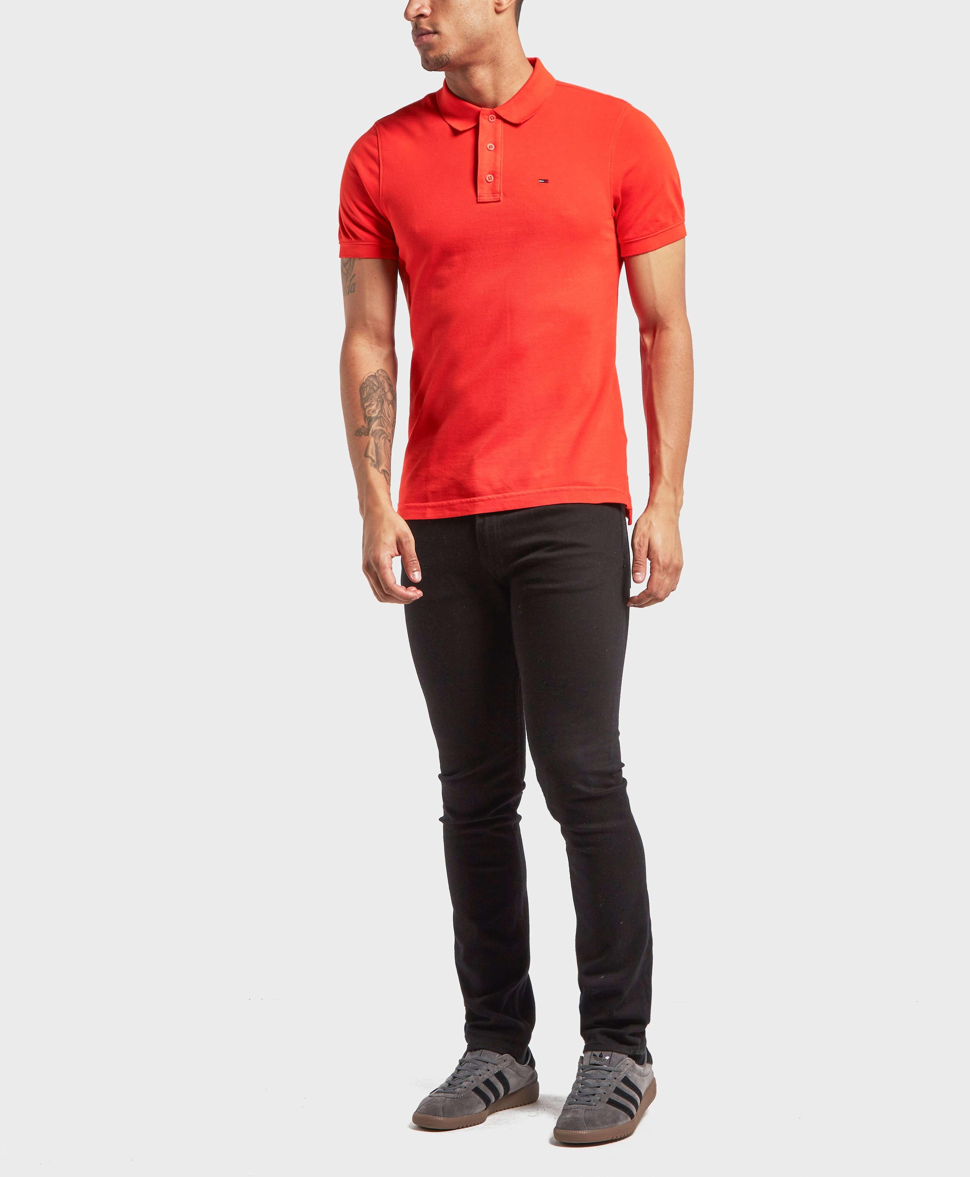 Tommy Jeans Basic Short Sleeve Polo Shirt