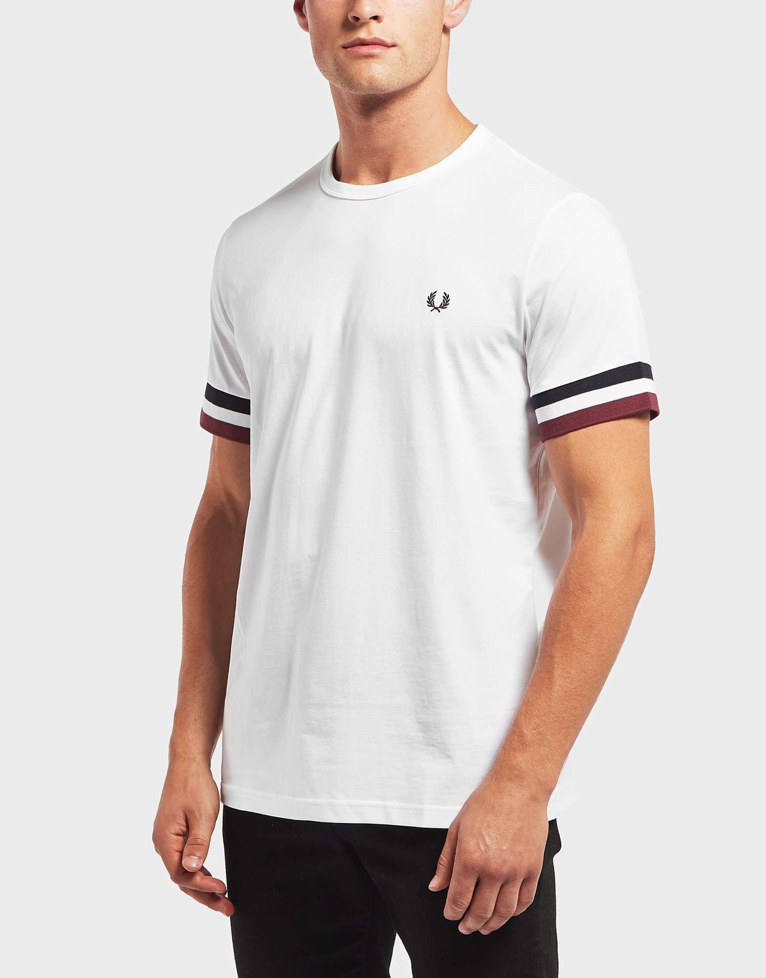 Fred Perry Cuff Short Sleeve T-Shirt