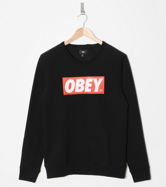 Obey The Box Sweatshirt