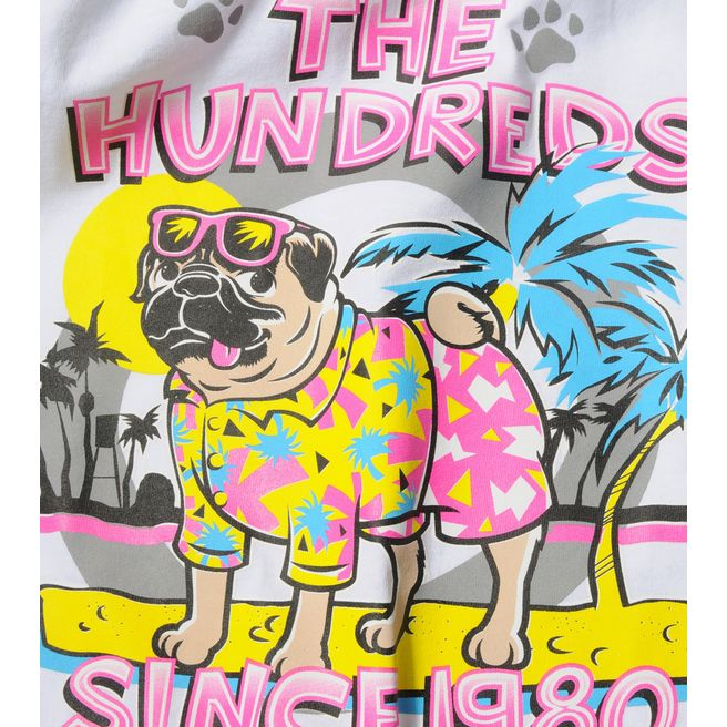 The Hundreds Pug Beach T-Shirt