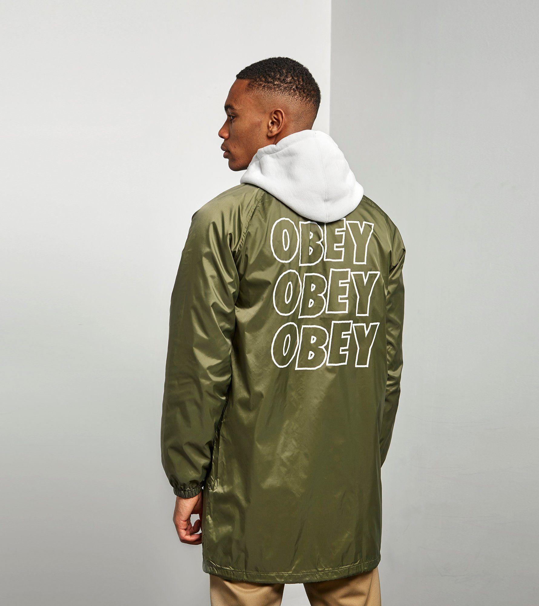 Obey Jumble Jacket