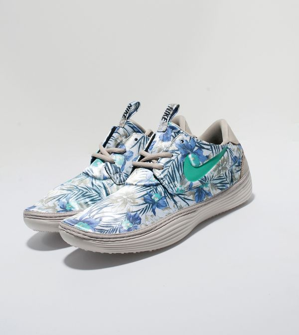 new style 3e28e a5b3c Nike Solarsoft Moccasin QS Floral Pack