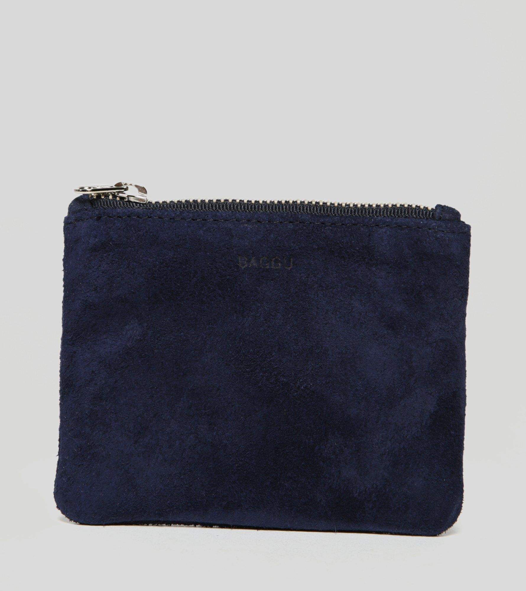 BAGGU Small Leather Pouch