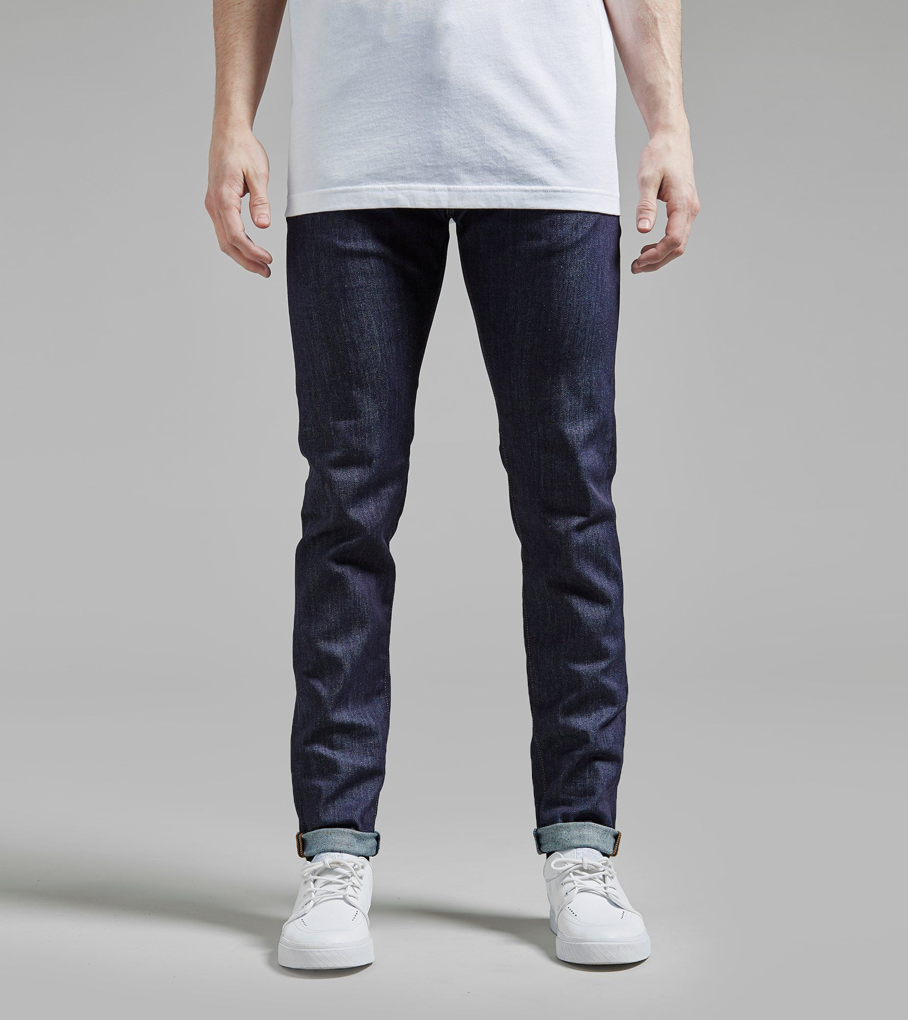 ED-85 Slim Tapered Jean Soak Wash Blue
