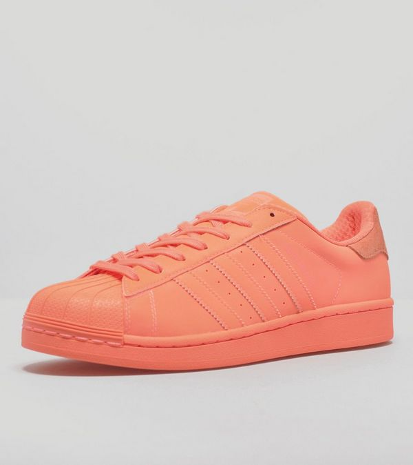 adidas Superstar Adicolor Orange Mens Size