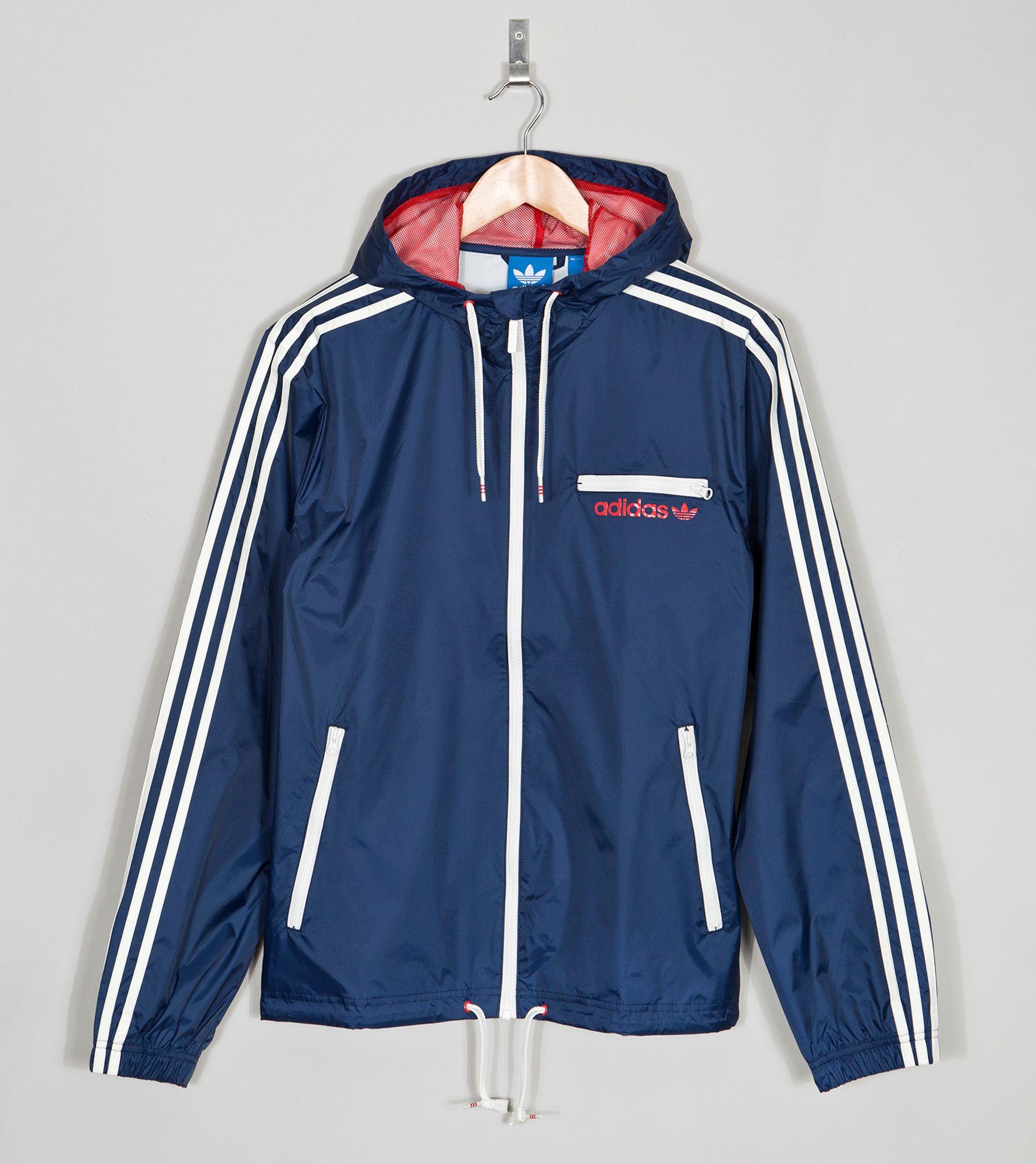 Adidas Originals Rain Jacket Size