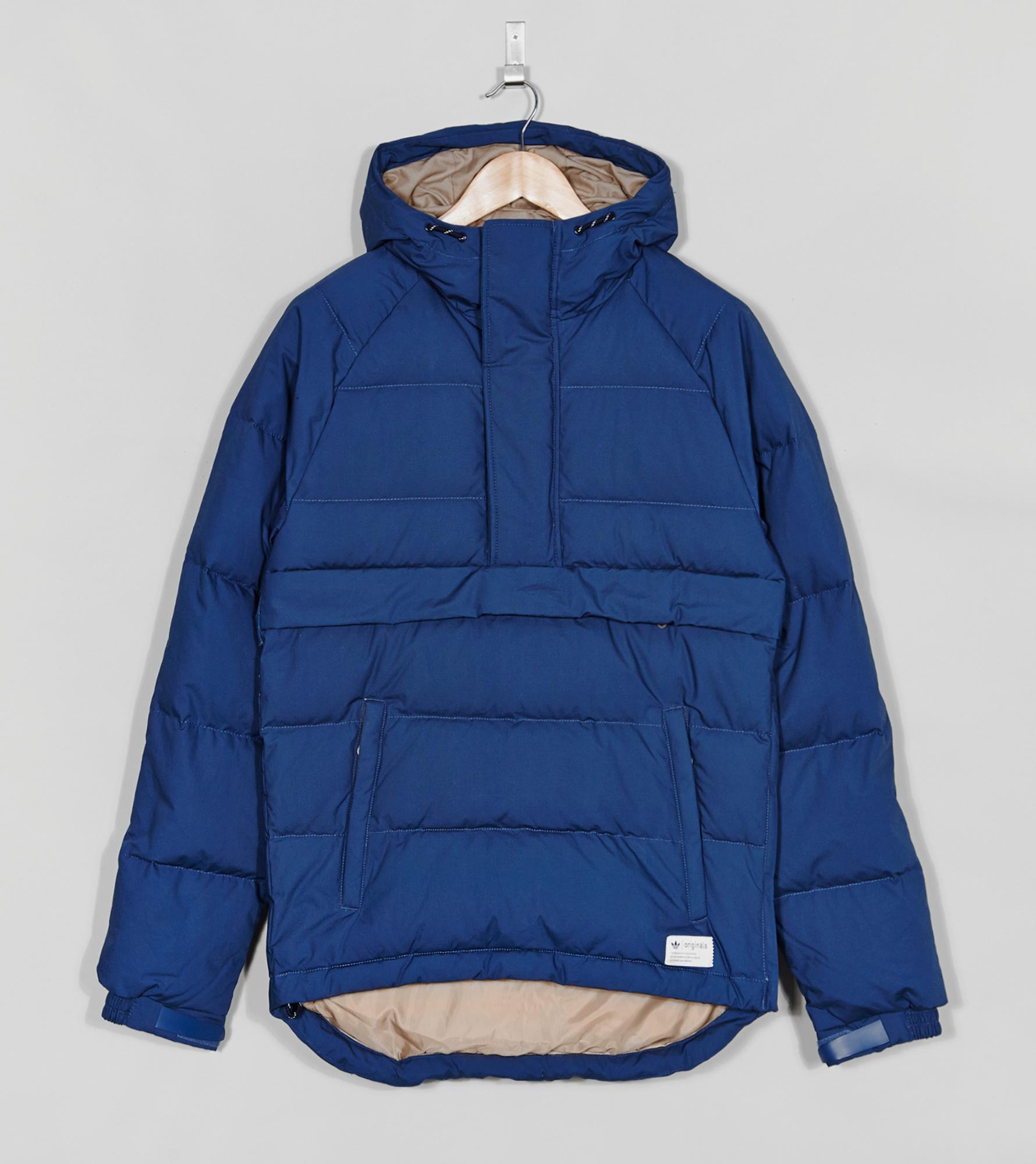 Adidas originals parka blue