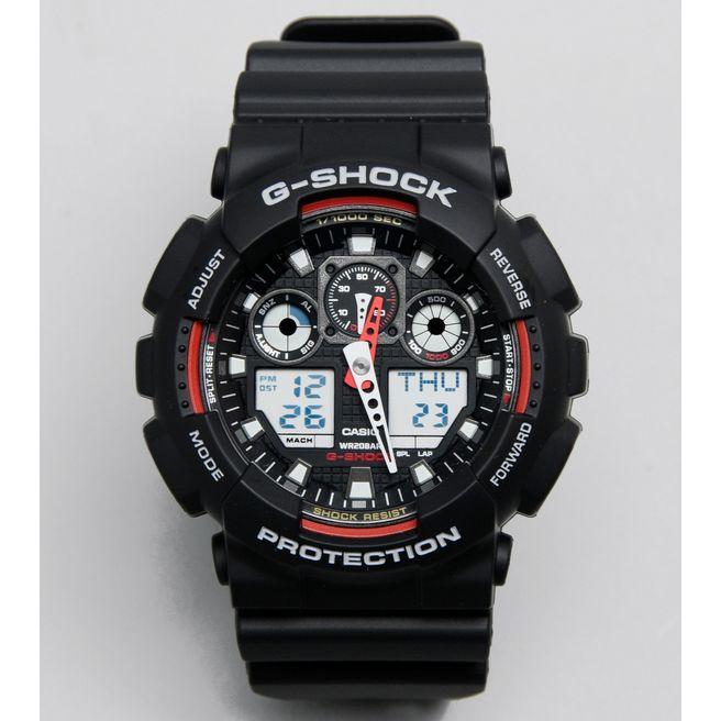 G-Shock GA 100 Chonograph Watch