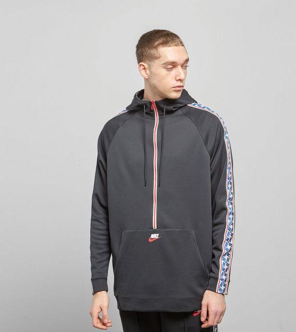 65fafbd4784b Nike Half Zip Taped Poly Hoodie