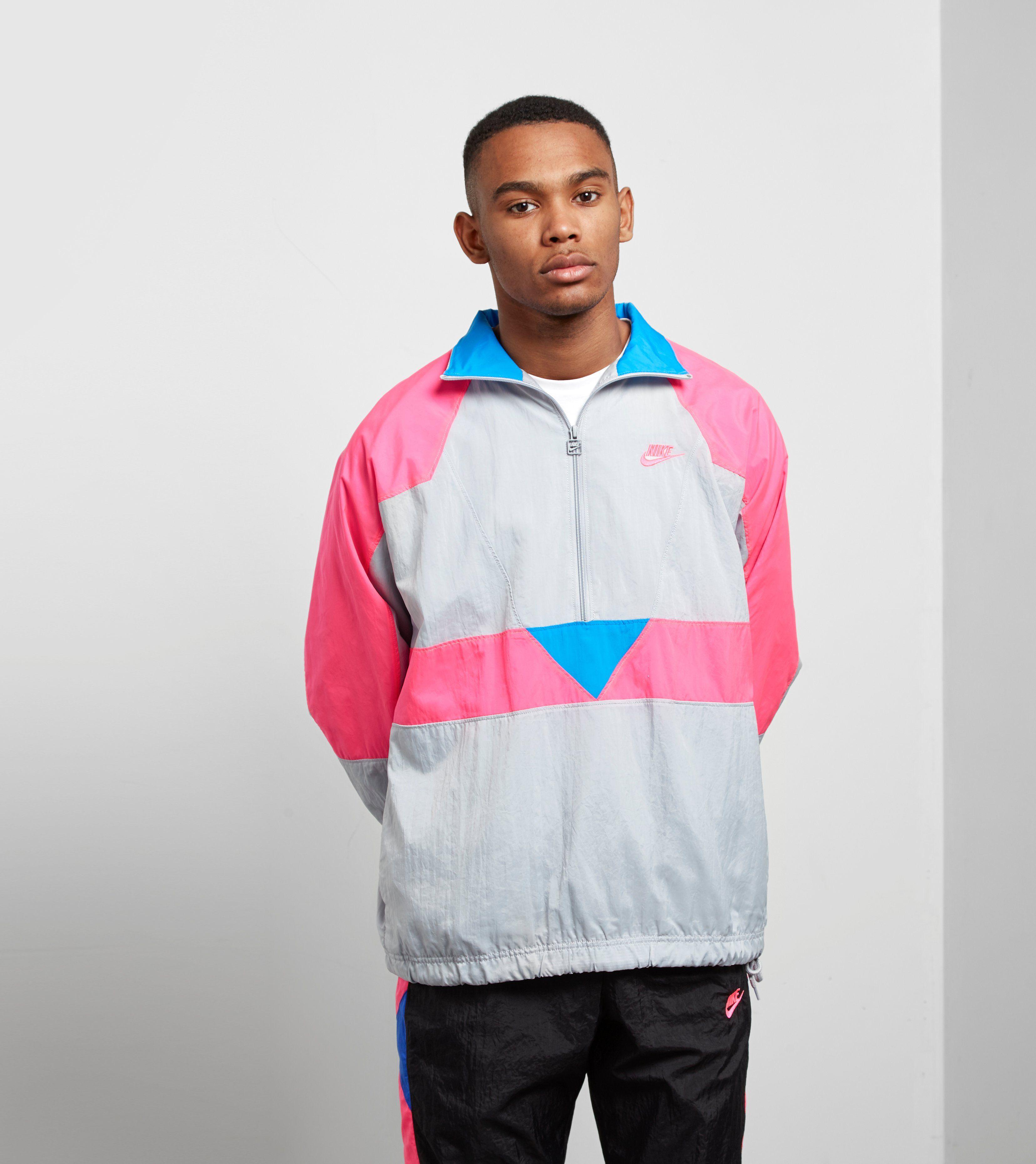 8c8096e6eb96 Nike Vaporwave Half Zip Woven Jacket