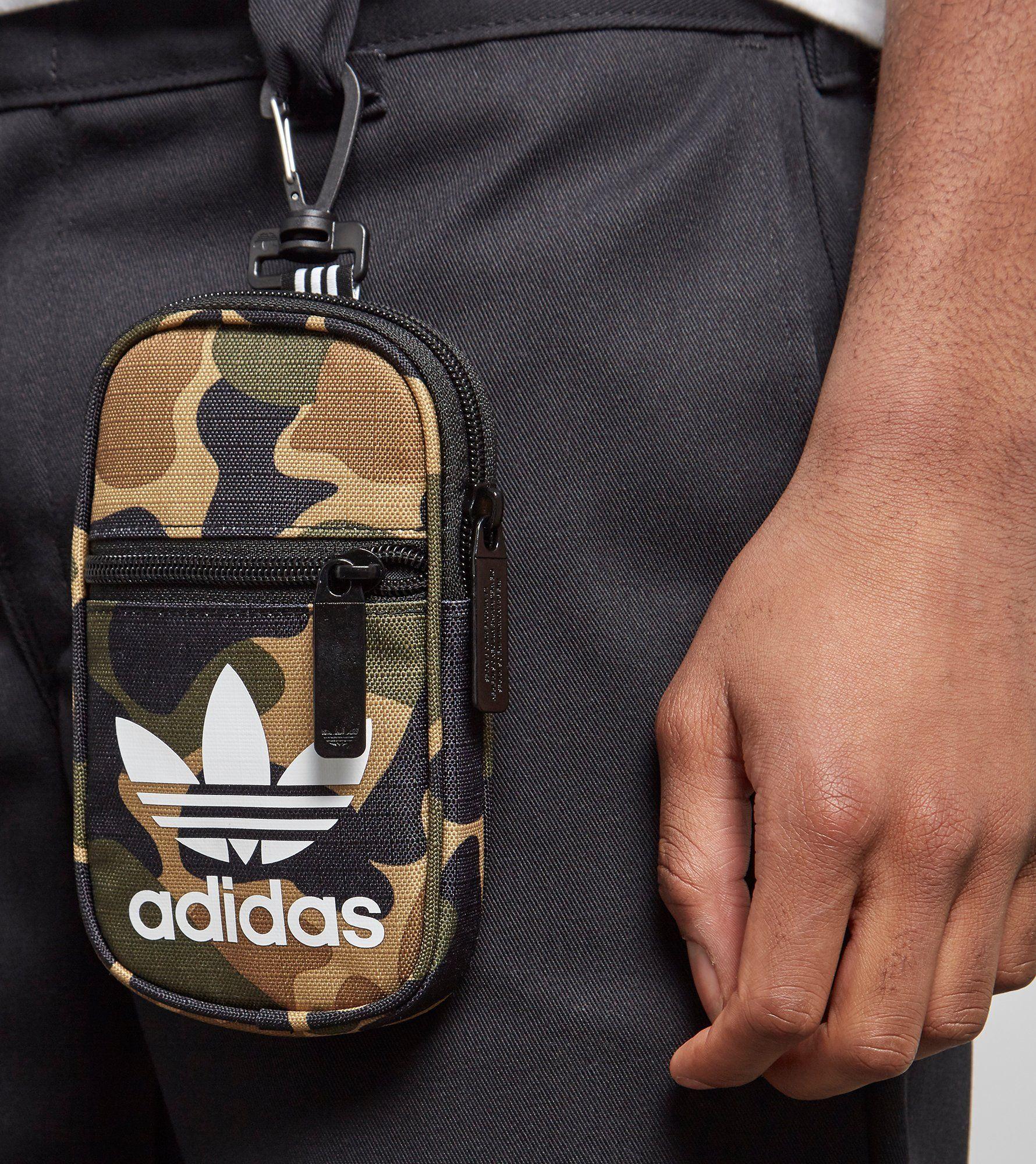 adidas Originals Trefoil Clip Pouch Bag