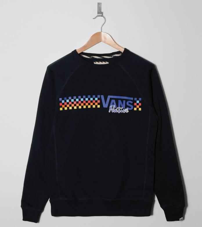 Vans Native Check Sweatshirt
