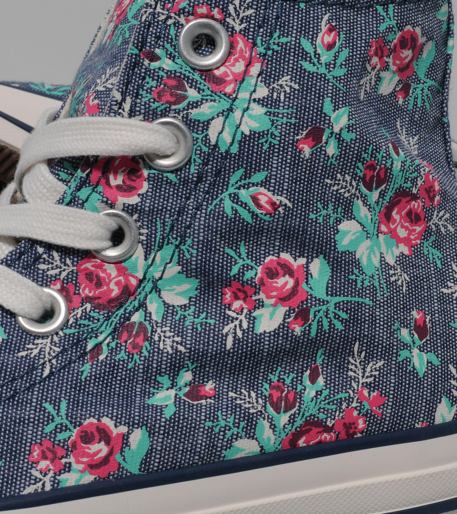 Converse All Star Hi Floral