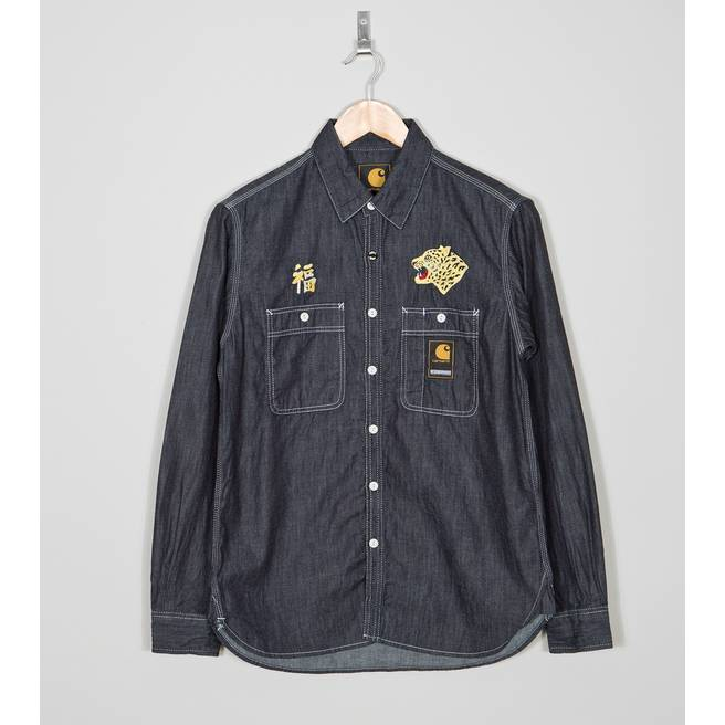Carhartt WIP x Neighborhood NHCH Long Sleeve Chambray Shirt