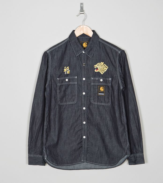 Carhartt WIP x Neighborhood NHCH Long Sleeve Chambray Shirt
