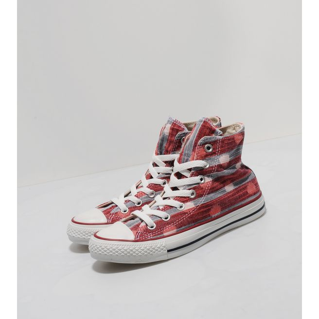Converse All Star Hi Stripe Polka Dot
