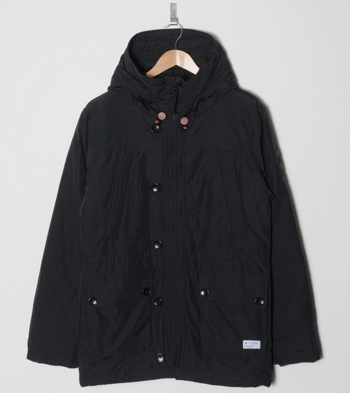 Adidas Originals Blue Long Down Coat