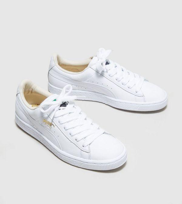 puma basket classic white