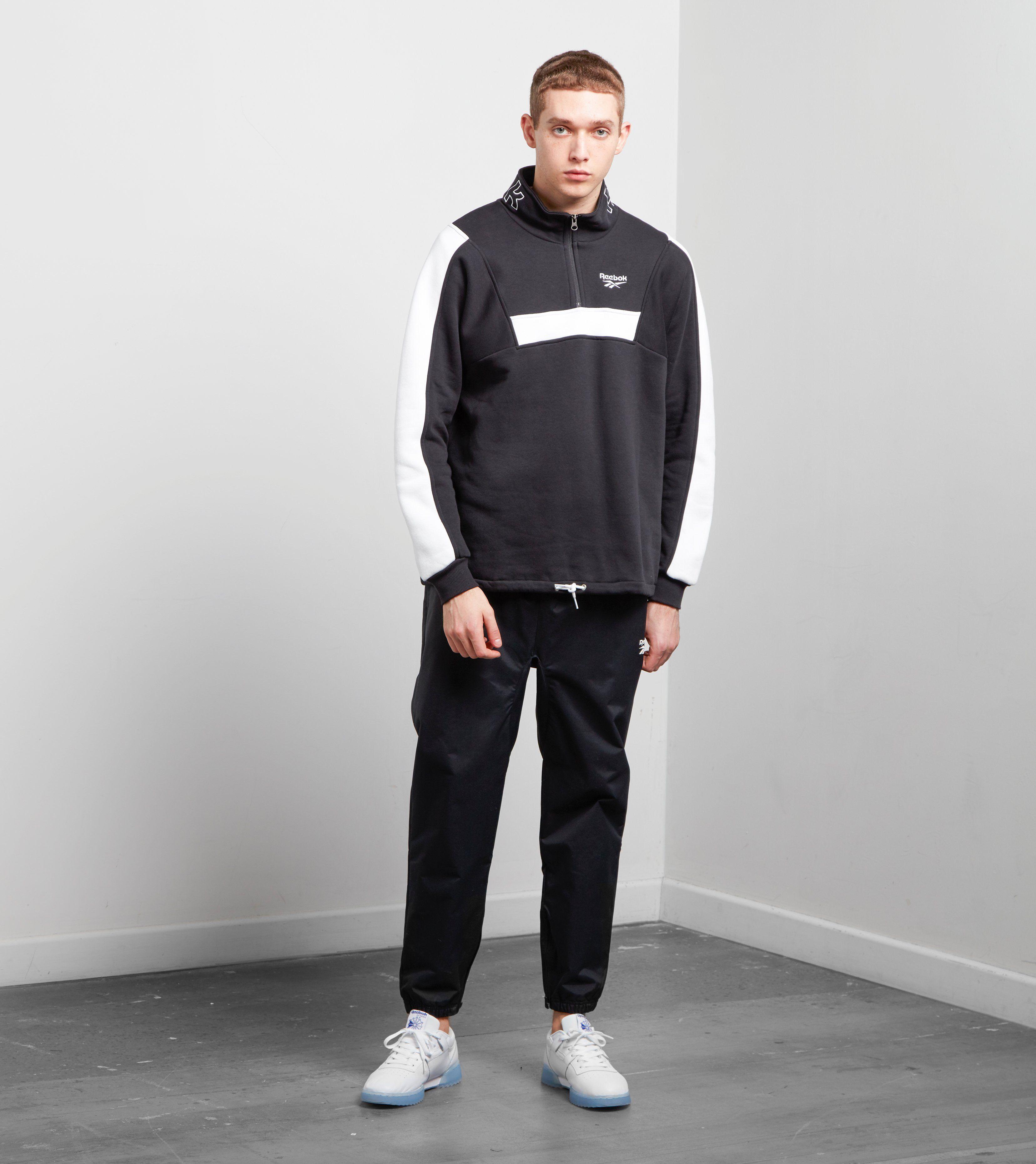 Reebok Half Zip Fleece Sweatshirt