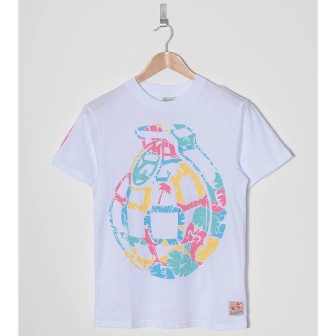 Trainerspotter Hibiscus Grenade T-shirt