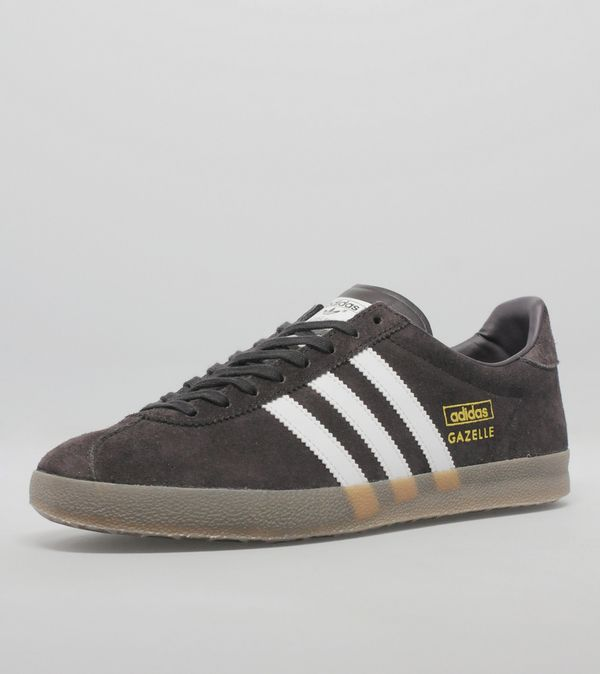 Newest Adidas Originals Gazelle Og Black Mens Trainers Outlet UK0131