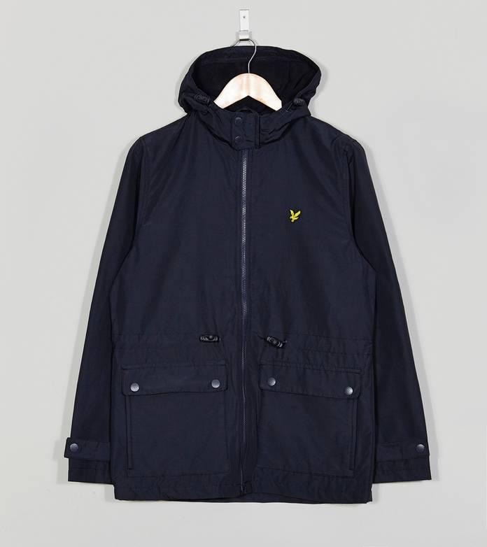 Lyle & Scott Wax Microfleece Lined Hooded Jacket