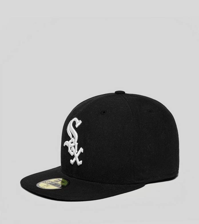 New Era Authentic White Sox 59FIFTY Fitted Cap