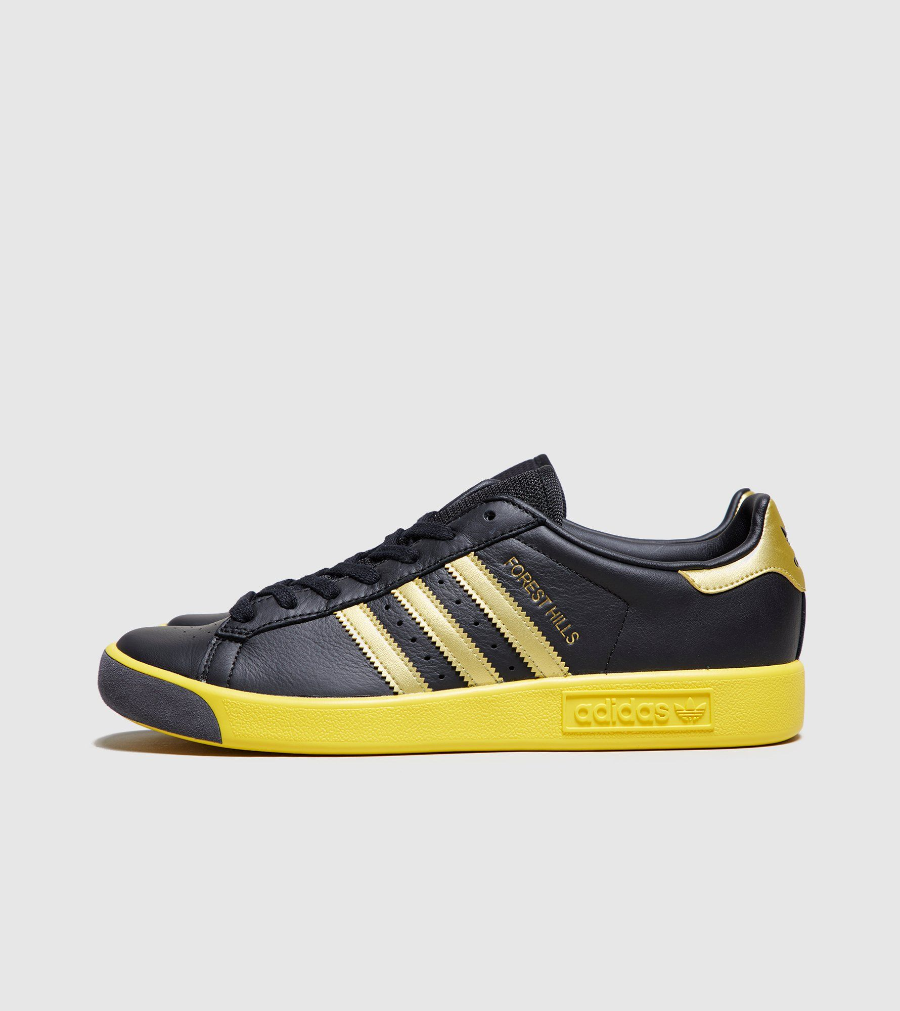 Forest Hills Leather And Mesh Sneakers - Whiteadidas Originals qHNBCi